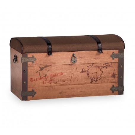 Pirat  leksakskista / förvaringslåda