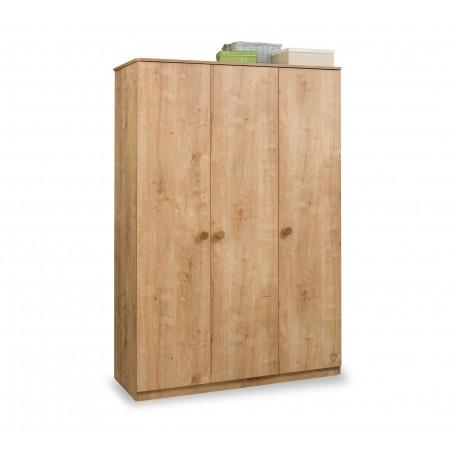 Mocha 3 dörrar garderob