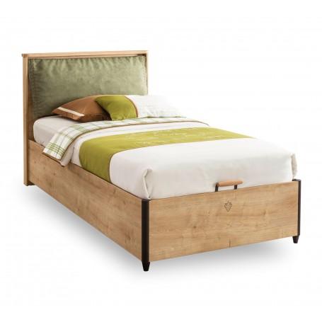 Mocha säng med förvaring (100x200 Cm)