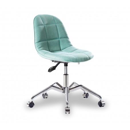 Modern skrivbordsstol (turkos)