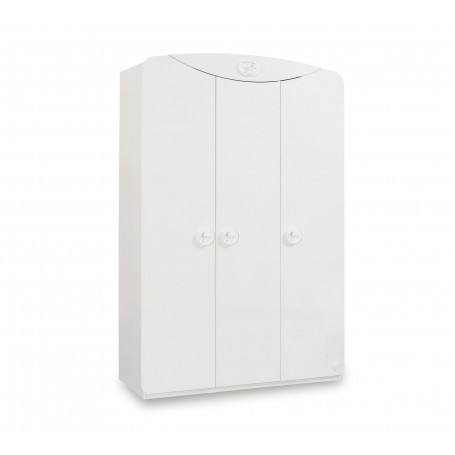 Baby Cotton Sl - 3 dörrar garderob