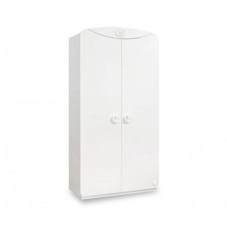 Baby Cotton Sl - 2 dörrar garderob