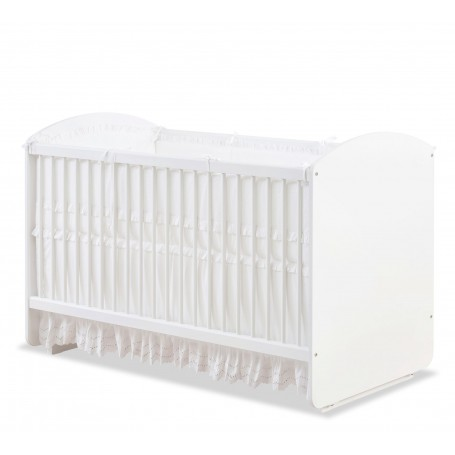 Baby Cotton vagga-spjälsäng (70x130 Cm)