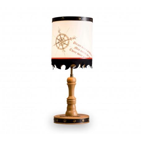 Pirat bordslampa
