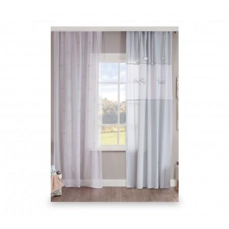 Baby Cotton draperi (140x260 Cm)