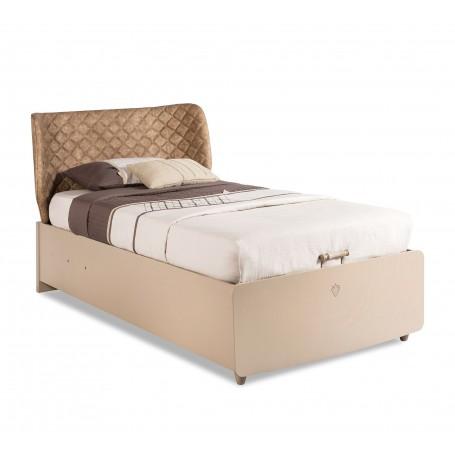 Lofter säng med förvaring (100x200 Cm)