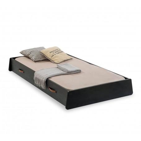 Dark Metal sänglådor (90x190 Cm)