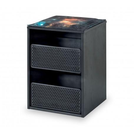 Dark Metal låda
