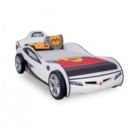 Coupe bilsäng (vit)