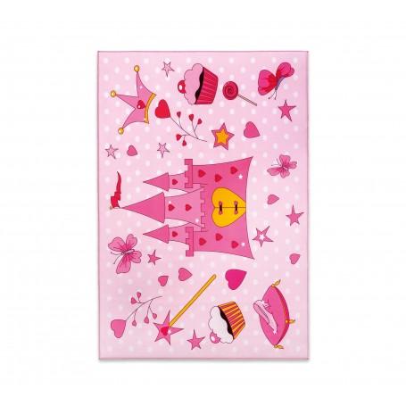 Mjuk prinsessa matta (100x150 Cm)