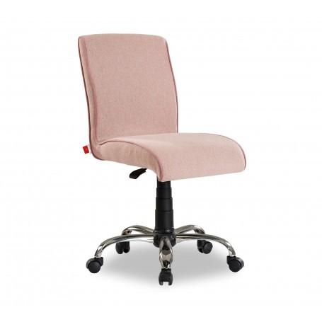 Mjuk skrivbordsstol (rosa)