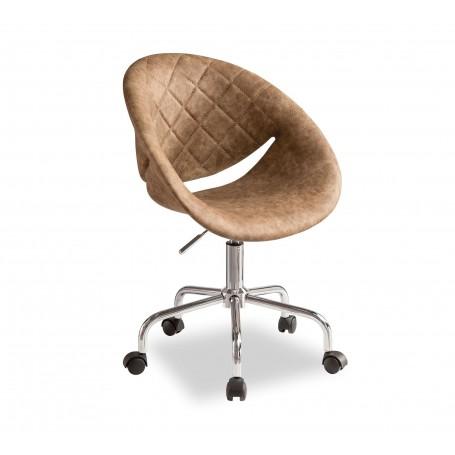 Relax skrivbordsstol (brun)