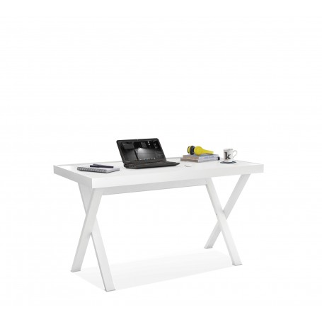White Y skrivbord