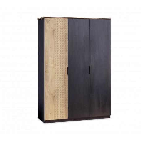 Black Line 3 dörrar garderob