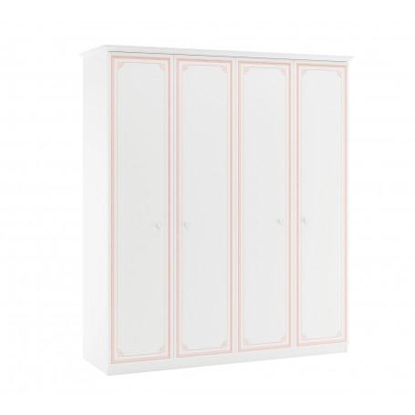 Selena Pink 4 dörrar garderob