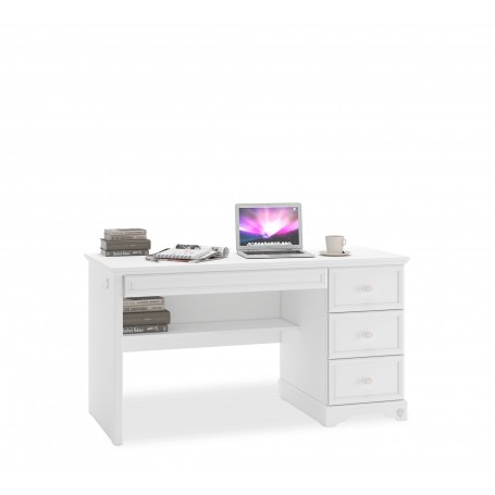 Rustic White skrivbord
