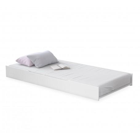 Rustic White sänglådor (100x200 Cm)