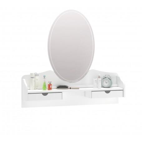 Rustic White spegel