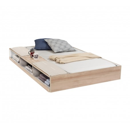 Duo sänglådor med hyllor (90x190 Cm)