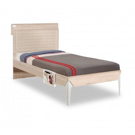 Duo Line säng (100x200 Cm)