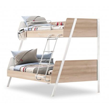 Duo våningssäng (90x200-120x200 Cm)