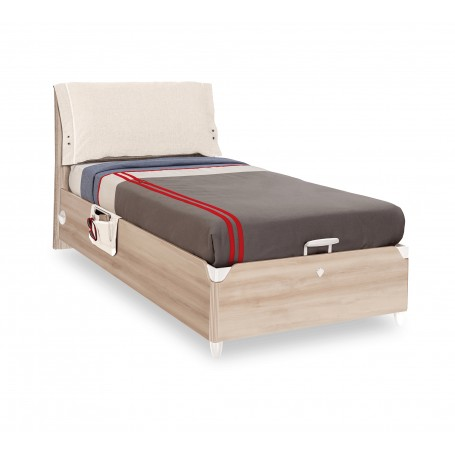 Duo säng med förvaring (100x200 Cm)