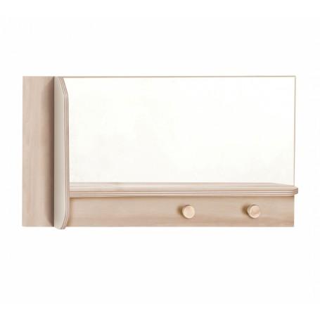 Duo spegel med hylla