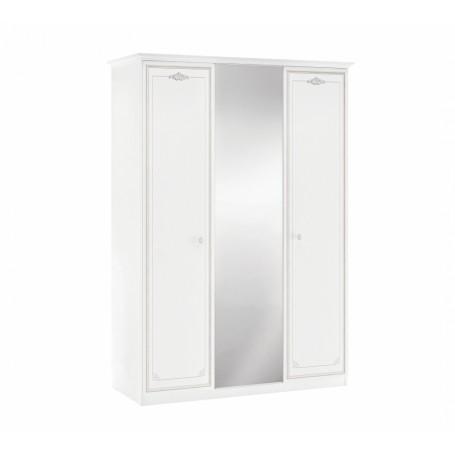 Selena Gray 3 dörrar garderob