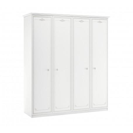Selena Gray 4 dörrar garderob