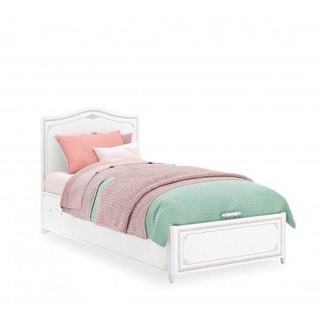 Selena Grey säng med förvaring (100x200 Cm)