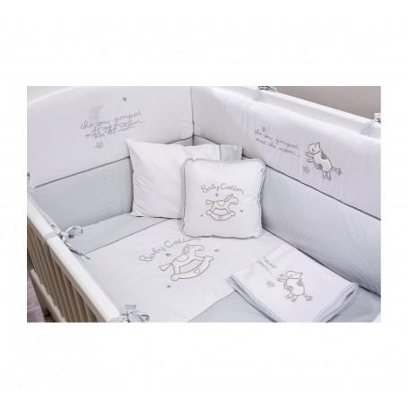 Cotton Baby spjälskydd (80x130 Cm)