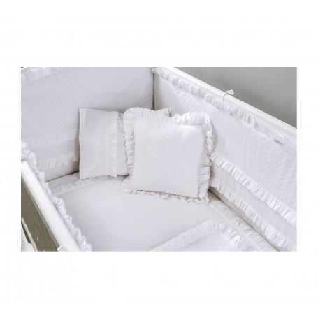 White Baby spjälskydd (70x130 Cm)