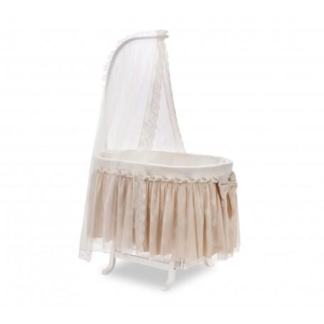 Knitted Baby spjälskydd set för vagn
