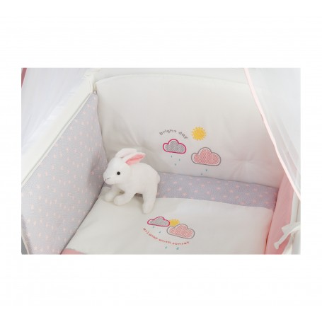 Sunshine Star Baby spjälskydd set för vagga (45x90 Cm)