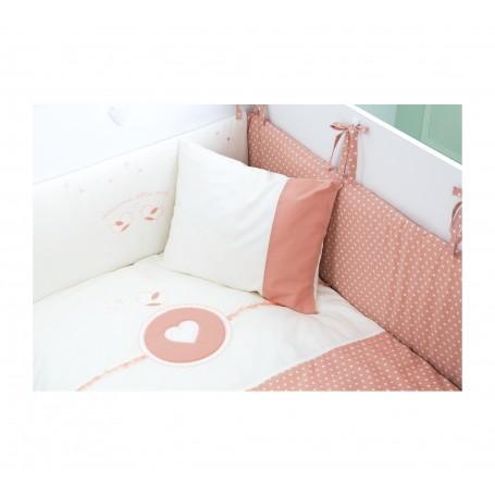 Romantic Baby spjälskydd set (70x140 Cm)