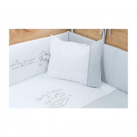 Cotton Baby spjälskydd set (70x140 Cm)
