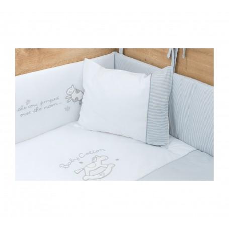 Cotton Baby spjälskydd set (70x110 Cm)