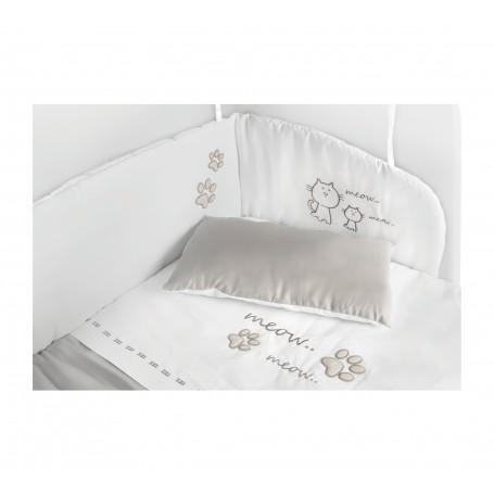 Cat Boy Baby spjälskydd set för bedside crib