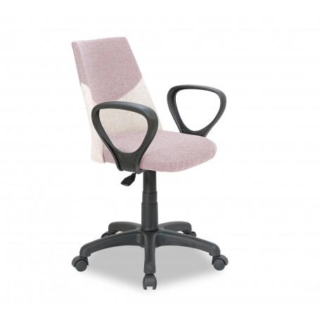 Dual skrivbordsstol (pink)