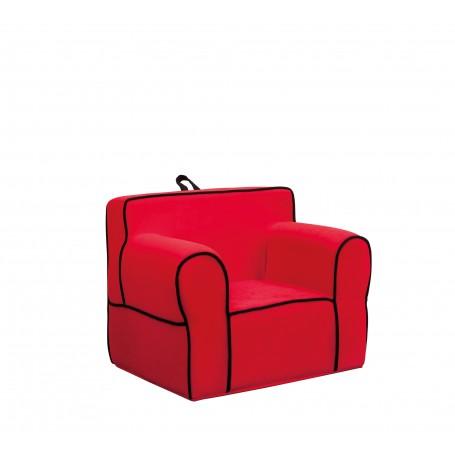 Komfort Kid fåtölj (röd)
