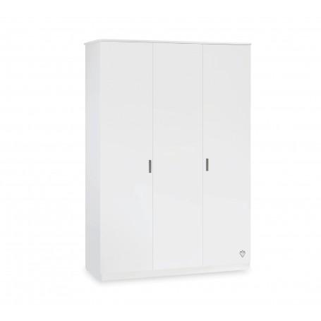 White Line 3 dörrar garderob
