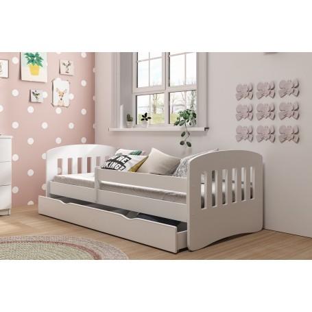 Classic 1 barnsäng med madrass och sänglåda