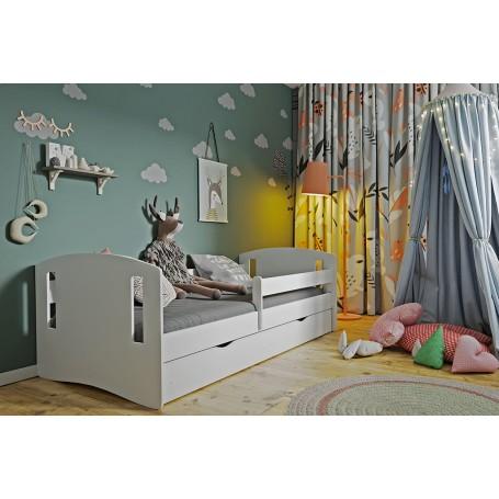 Classic 2 barnsäng med madrass och sänglåda