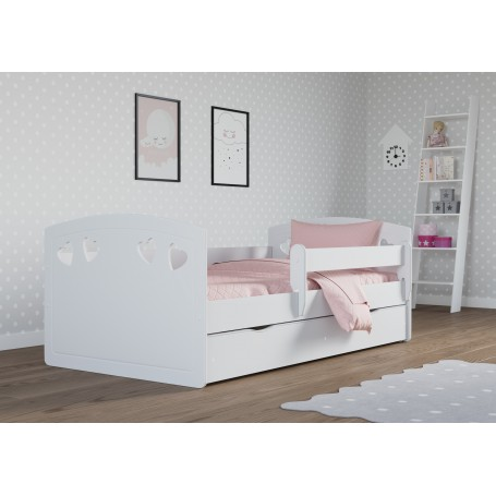 Julia barnsäng med madrass och sänglåda