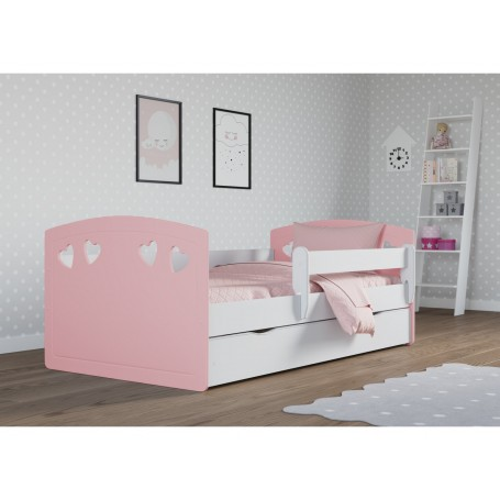 Julia MIX barnsäng med madrass och sänglåda