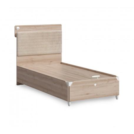 Duo 2 säng med förvaring (100x200 Cm)