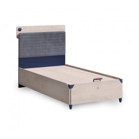 Trio säng med förvaring (100x200 Cm)