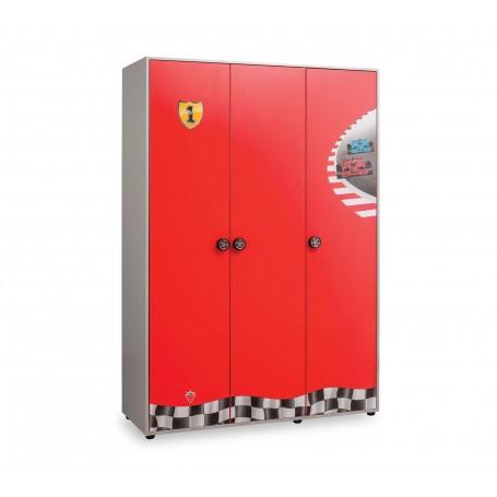 Race Cup 3 dörrar garderob