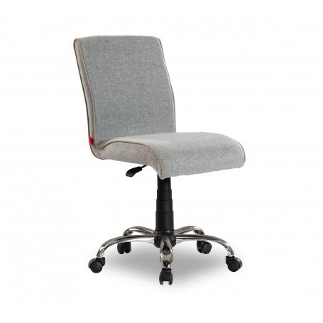 Mjuk skrivbordsstol (grå)