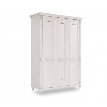 Romantisk 3 dörrar garderob